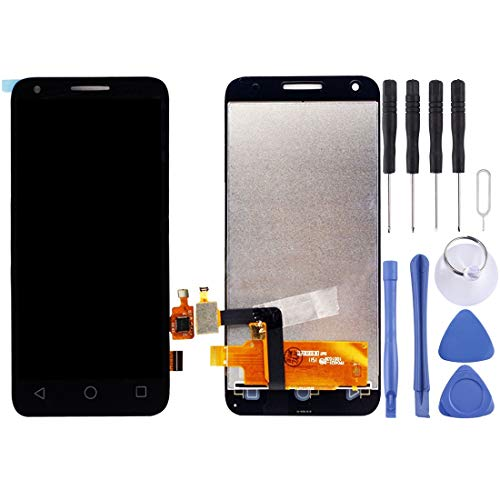 MDLIX GJT AYSMG LCD-Bildschirm und Digitizer Vollversammlung for Alcatel One Touch Pixi 3 4.5/5019 (schwarz) (Color : Black)