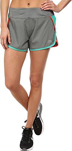 The North Face Women's GTD Running Short Sedona Sage Grey/Billiard Green Shorts XS X 4