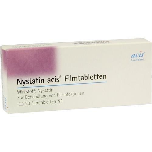 Nystatin Acis Tabletten, 20 St.