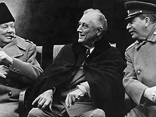 AAArt G6845 Churchill Roosevelt and Stalin at Yalta Vintage Photo Decor Wall 36x24 Poster Print
