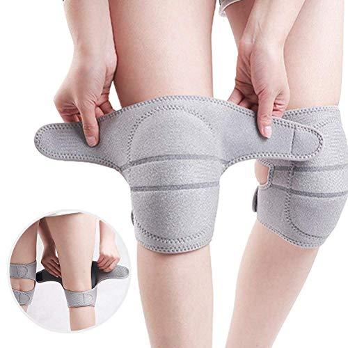 CeFoney Rodilleras protectoras de compresión para adultos, rodilleras protectoras para deportes, esponjas, rodilleras, almohadillas de baile, cómodo protector de danza para baloncesto, yoga
