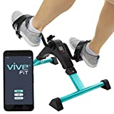Vive Desk Bike Cycle - Foot Pedal Exerciser - Foldable Portable Foot, Hand, Arm, Leg Exercise P…