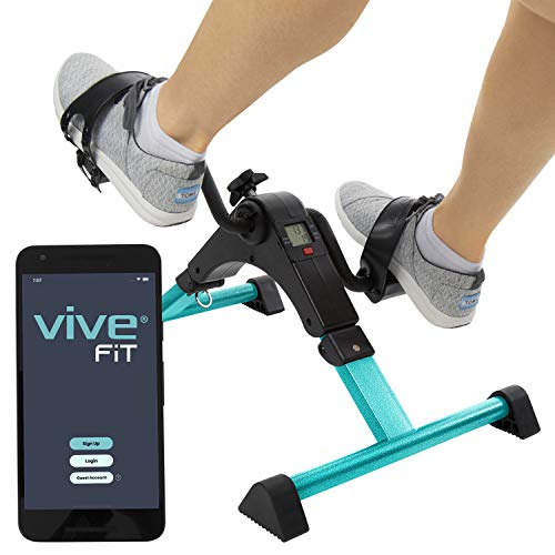 Vive Desk Bike Cycle - Foot Pedal Exerciser -...