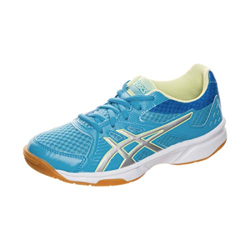 ASICS Unisex-Kind Upcourt 3 Gs Laufschuh, Aquarium/Pure Silver, 39.5 EU