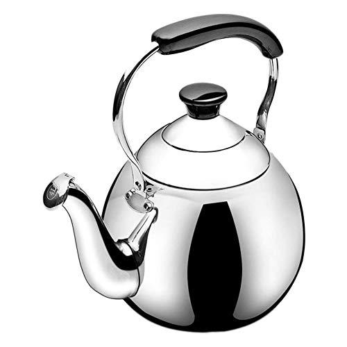 Artículos para el hogar Whistling Kettle teteras de acero inoxidable olla de agua de gas cocina de inducción quemadores Calderas café Jug,3L