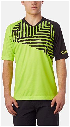 Giro Unisex Roust Short Sleeve MTB Jersey Ss, Limette Used-Optik, XL