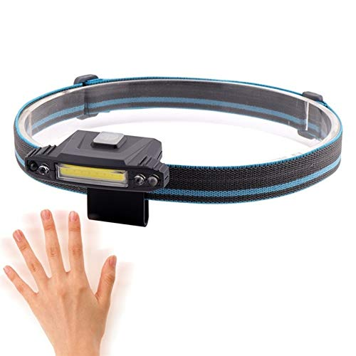 ALISUO Bylk AYDD 100LM USB Recargable Mini inducción Tapa de la inducción luz de Pesca al Aire Libre Faros