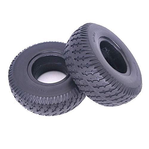 Neumáticos para Scooter eléctrico, 9 Pulgadas 9X3.50-4 Neumáticos sólidos Antideslizantes, Resistentes al Desgaste y a Prueba de explosiones, adecuados para Scooters para Personas Mayores, Accesorios