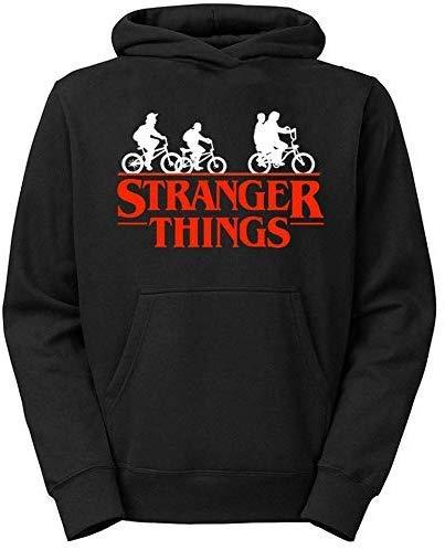 Moletom Unissex Canguru Stranger Things Preto (P) …