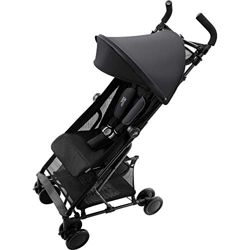 Britax Römer 2000030965 Britax Römer HOLIDAY2 Poussette (6 mois à 3 ans) Collection 2019 Cosmos Black, Noir