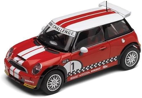 Scalextric 500003019 - Mini Cooper  JCW Challange No.1 (DPR) HD, Rennauto
