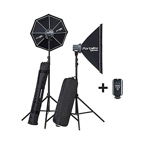 Elinchrom Flash el20847.2 – Komplette Studie Lite RX ONE/ONE Softbox, Schwarz