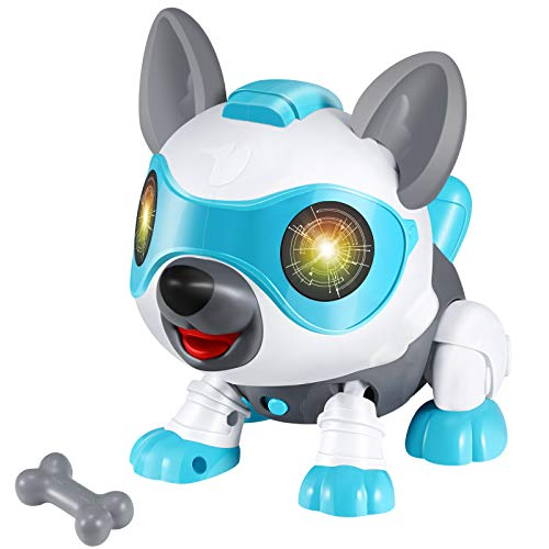 Selieve Toys for 3-12 Year Old Boys or Girls  STEM DIY Robot Dog Animals Toy for Kids Smart Puppy Interactive Intelligent Educational Kids Toys  Gifts for 3-8 Year Old Boys and Girls
