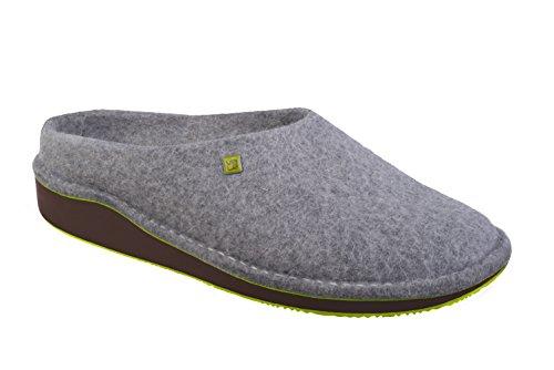 myVALE myVALE Wombat Brown Filzschuh mit nach Fußabdruck individuell optimiertem Fußbett