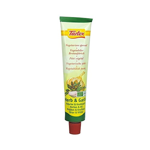 Tartex Yeast Pate Herbs & Garlic 200g