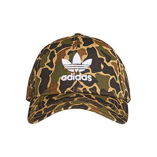 adidas Herren Camouflage Baseball Kappe, Mehrfarbig, 12/16 Jahre