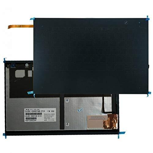 Bucom Teclado para IBM Lenovo Yoga Book YB-X9 YB1-X90L YB1-X90F YB1-X91L YB1-X91F alemán