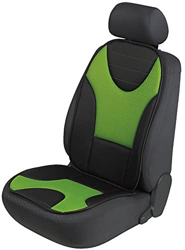 Walser Sitzaufleger, Universal Sitzauflagen Auto, Autositzaufleger und Schutzunterlage, Autositzschoner schwarz-grün