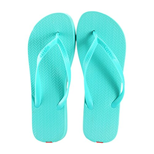 Casual Tongs Unisexe Plage Chaussons Anti-Slip Maison Slipper Bleu azur