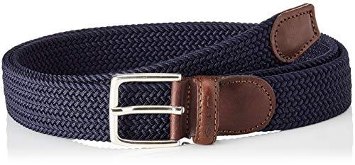 GANT Herren Elastic Braid Belt Gürtel, Blau (Marine 410), 95 (Herstellergröße: 95/38)