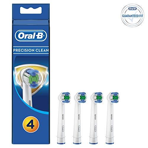 Oral-B Precision Clean - Cabezales para cepillo de dientes (4 unidades)