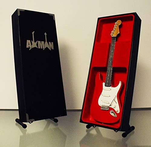 Axman Mark Knopfler (Dire Straits): 1961 Fender Stratocaster - Réplica de guitarra en miniatura