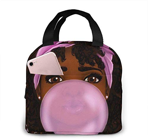 Bolsa de almuerzo con burbujas para niñas,para mujeres,niñas,niños,bolsa de picnic aislada,bolsa gourmet,bolsa cálida para el trabajo escolar,oficina,camping,viajes,pesca