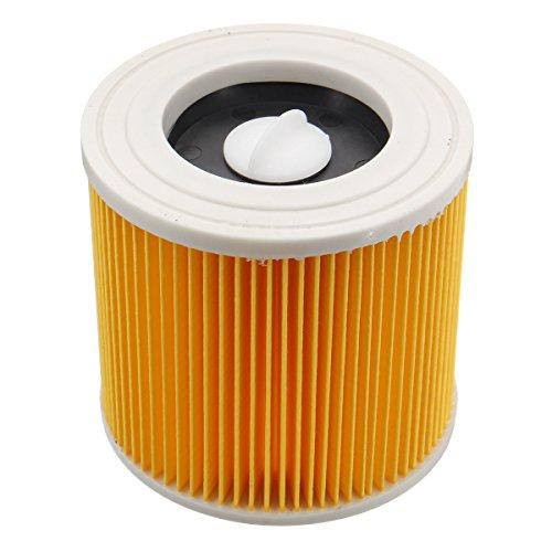 ILS - Nat en droog Stofzuiger Cartridge Filter Vervanging voor Karcher MV2 WD2.200 WD3.500 A2504 A2654