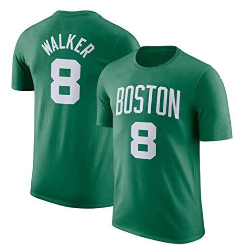 2021 Boston Celtics #0 Tatum #8 Kemba Walker Jersey De Baloncesto Personalizado, Game Jersey De Secado Rápido Para Hombres, Camiseta De Baloncesto De Manga Corta, Camiseta Deportiva,Green2,XXL