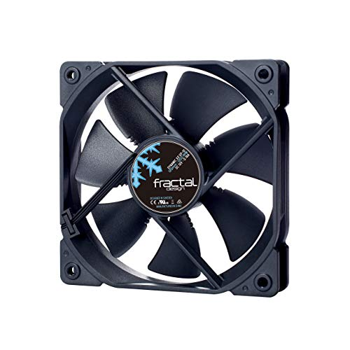 Fractal Design Dynamic X2 GP-12 Black, Lüfter für (High End) Gaming PC Gehäuse, schwarz