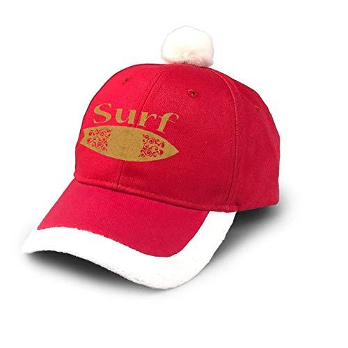 Sombrero de camionero Surf Hilarious Hawaiian Christmas Hat Cotton Baseball Dad Cap Santa Hat Disfraz Rojo