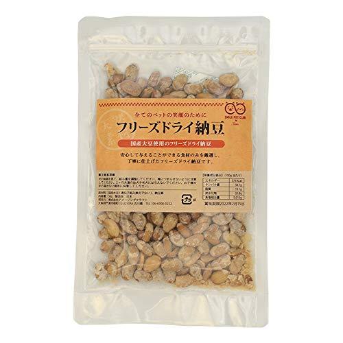 国産大豆使用 フリーズドライ納豆 犬 50g 日本製 ドッグフード