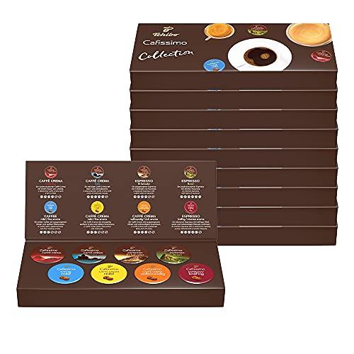 Tchibo Probierbox Cafissimo Kapseln in 8 verschiedenen Kaffeesorten (80 Stück)