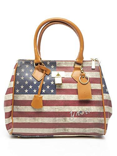 YNOT BORSA DONNA flag vintage shopping ali Usa FV-320 .Usa