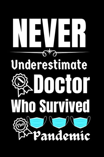 Doctor Gift: Who Survived The Pandemic Gifts: Welcome Notebook | Doctor...