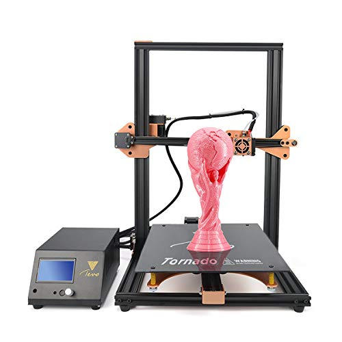 TEVO Tornado Impresora 3D con marco de aluminio completo más ensamblada Área de impresión más grande