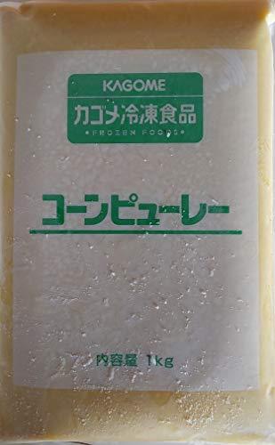 コーン ピューレ 1kg×10P 業務用 冷凍 とうもろこし もろこし ペースト