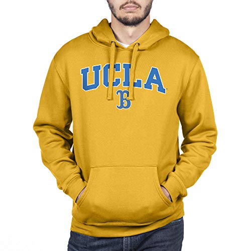 Top of the World Herren Kapuzenpullover NCAA Team Color, Herren, Team Color Hoodie Sweatshirt, UCLA Bruins Gold, X-Large