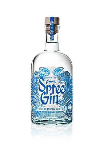 BIO Spree Gin - Berlin Dry Gin - Organic (1 x 0,5l)