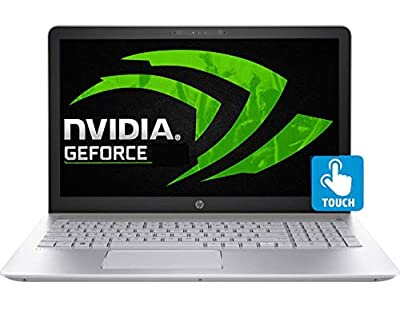 "HP Touch 15t Slim Gaming Laptop 8th Gen. Intel Quad Core i7 up to 4.0GHz 12GB 256GB SSD 15.6"" FHD WiFi Webcam B&O Audio Nvidia 2GB (Certified Refurbished)"