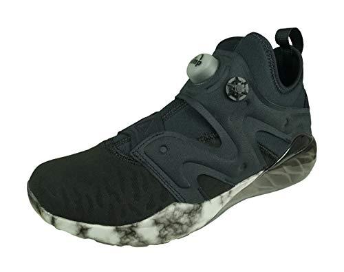 Reebok The Pump IZARRE, Zapatillas de Interior. Mujer, Negro, Gris, Blanco, 40 EU