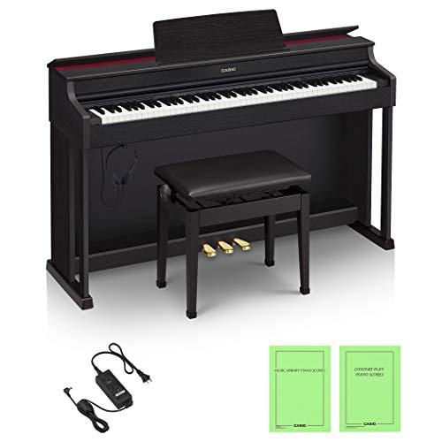 PIANOS CELVIANO. CASIO Piano digital CELVIANO AP-470BK.