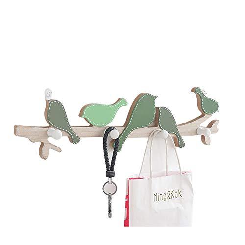 regenbogenfarben Kunststoff unzerbrechlich Toughook Mini-Wandhaken 5/St/ück