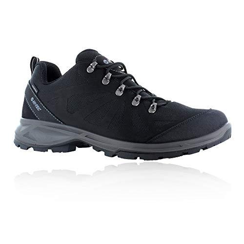 Hi-Tec Monte VISO WP, Zapatillas para Caminar Hombre, Black, 45 EU