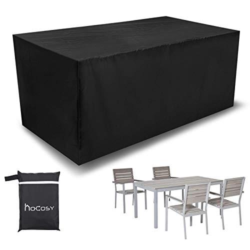 HBCOLLECTION/® Housse Respirante 196x114cm pour Salon Table de Jardin rectangulaire