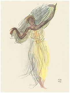 Auguste Rodin Kunstdruck /& Kunststoff-Rahmen Schwarz 50x40cm #H0BE