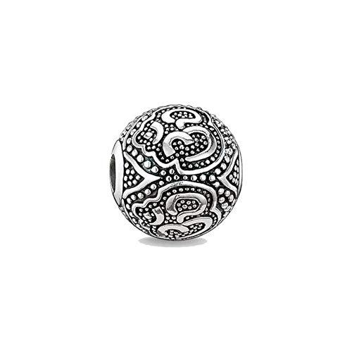 DIY Perlen UFO Charm 5 mm Loch, Modeschmuck, modisches Geschenk für Frauen, Männer, Jungen, Mädchen, passend für Armbänder und Halsketten OM