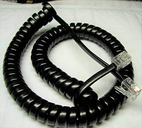 Off White 9 Ft Handset Cord Avaya Phone Legend MLX5D MLX10D MLX16DP MLX28D Coil