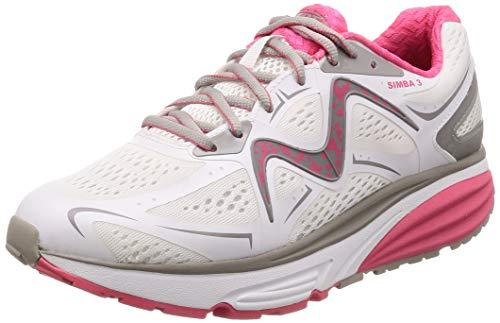 MBT 702028 Simba 3 W Mujer Zapatos de Cordones,Zapato bamboleo,señora Zapato Equilibrio,Suela...