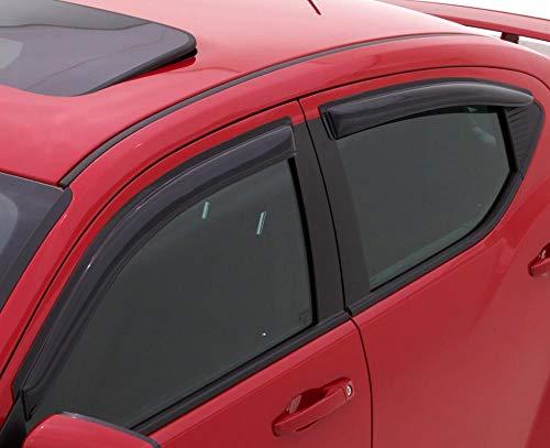 Auto Ventshade 94827 Original Ventvisor Side Window Deflector Dark Smoke, 4-Piece Set for 2014-2019 Nissan Rogue. (Excludes sport model)